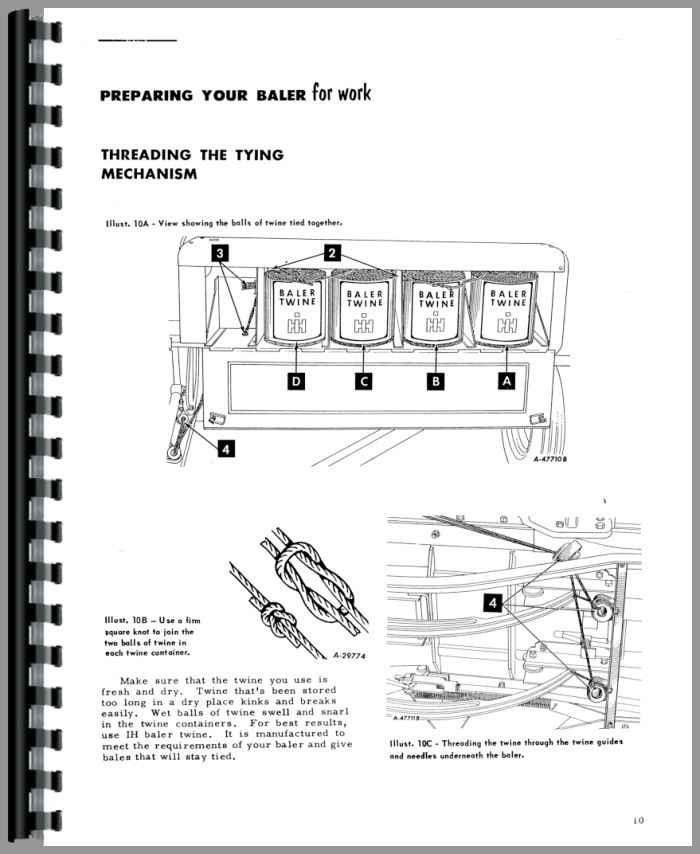 International Harvester 46 Baler Operators Manual