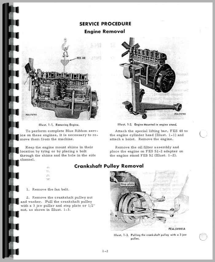 Farmall 460 Tractor Service Manual