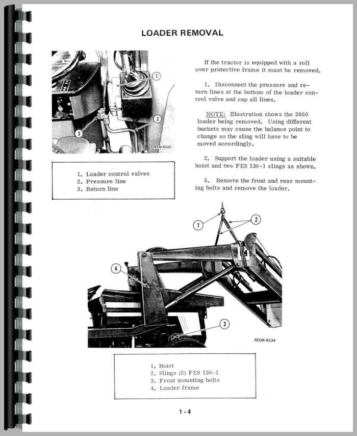 International Harvester 484 Tractor Service Manual
