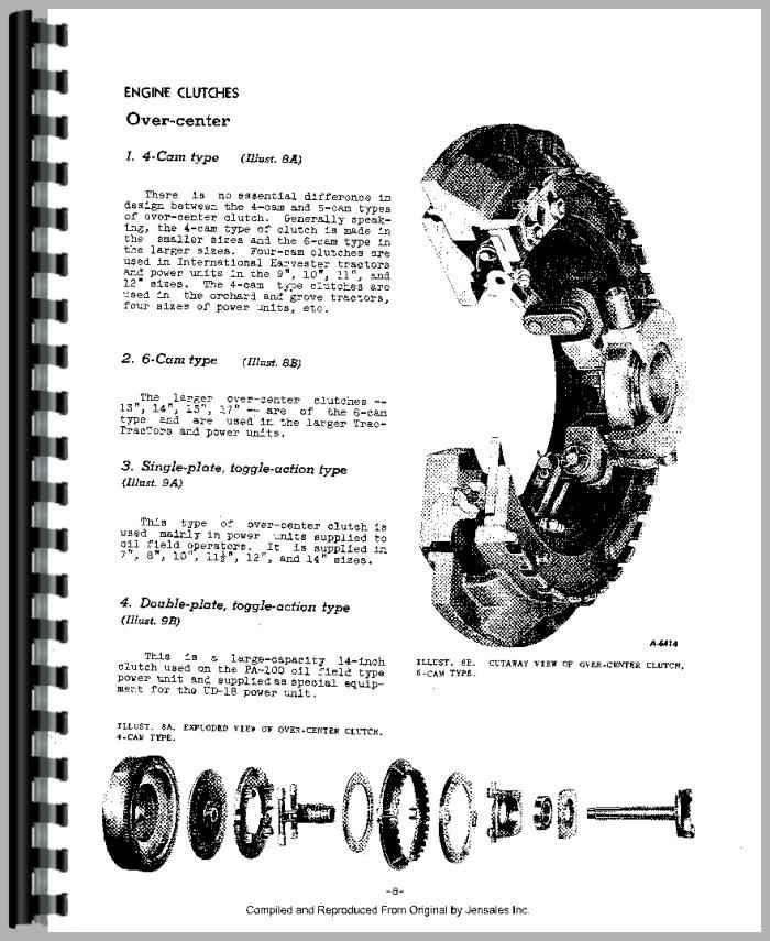 Farmall 560 Tractor Clutch Service Manual