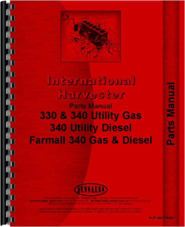 Daewoo Fork Lift Engine Parts Manual