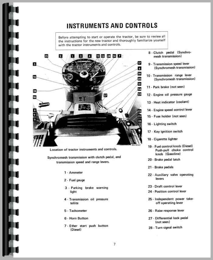 International 234 Tractor Wiring Diagram Farmall 706