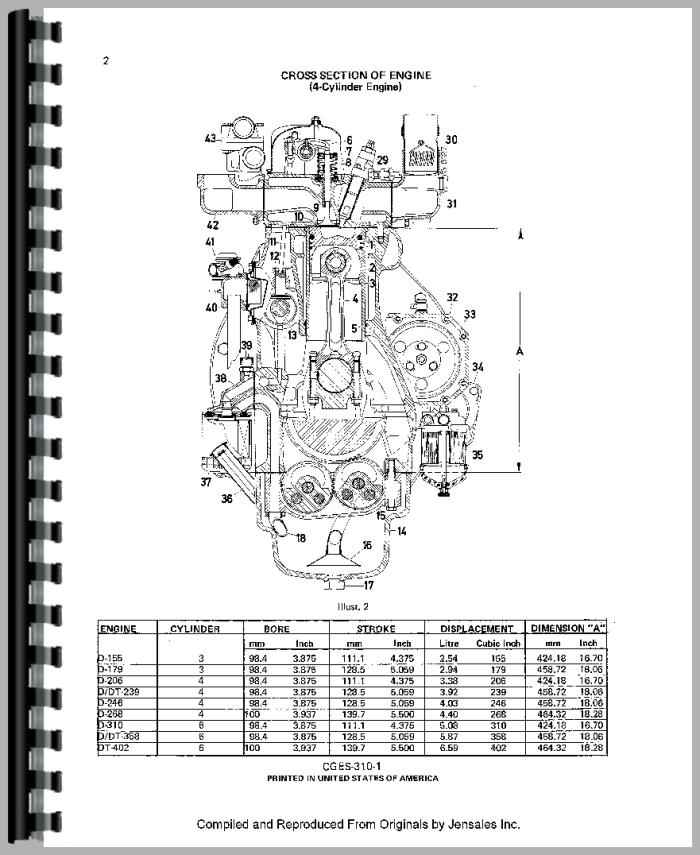 International Harvester 624 Tractor Engine Service Manual