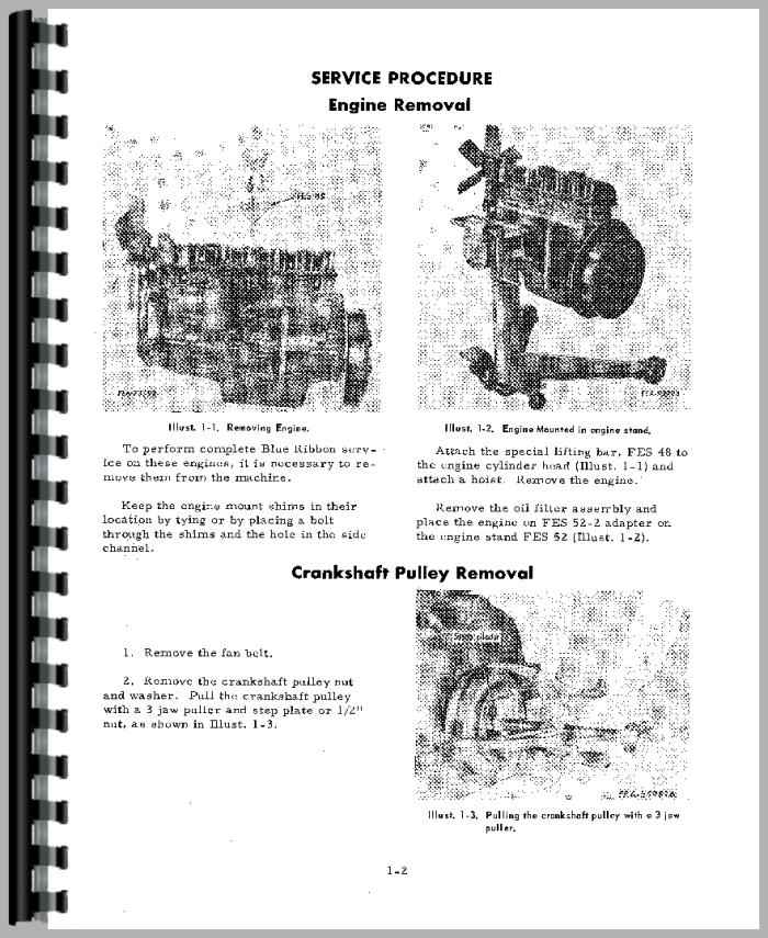 International Harvester 656 Tractor Engine Service Manual