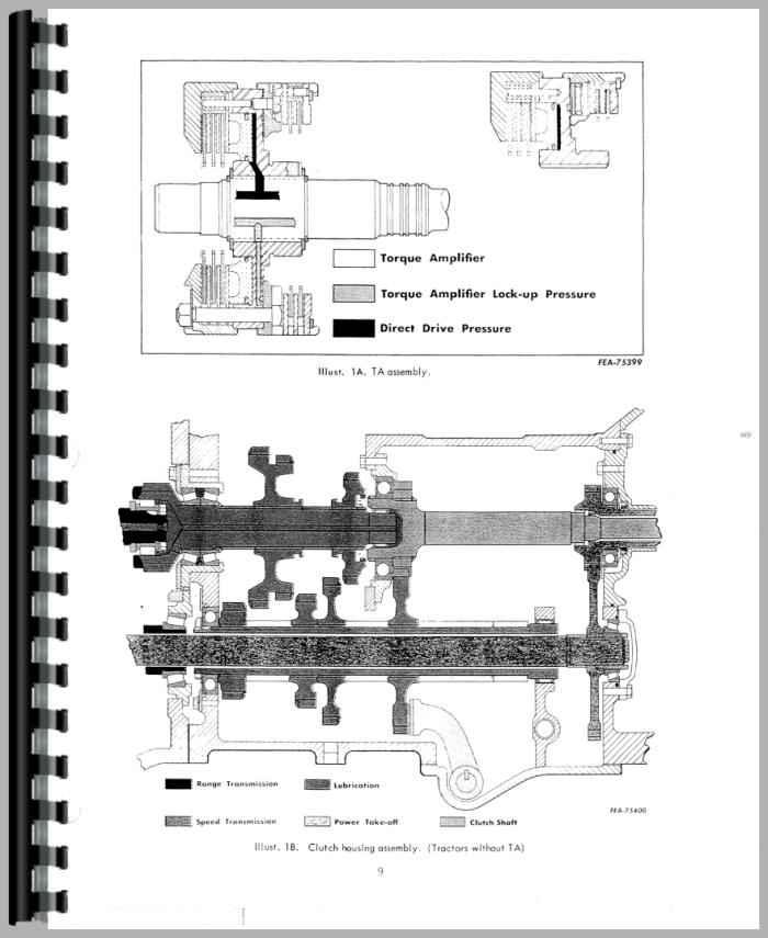 Farmall 756 Tractor Service Manual