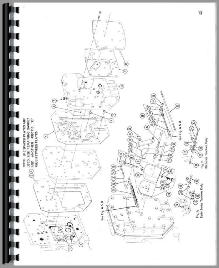 Farmall 856 Tractor Parts Manual