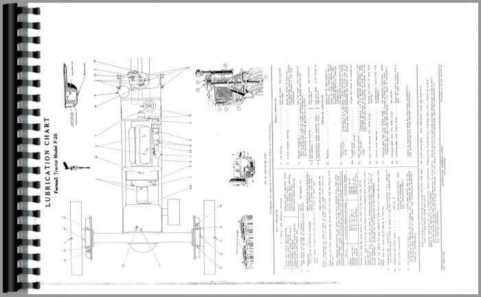 Farmall F20 Tractor Operators Manual