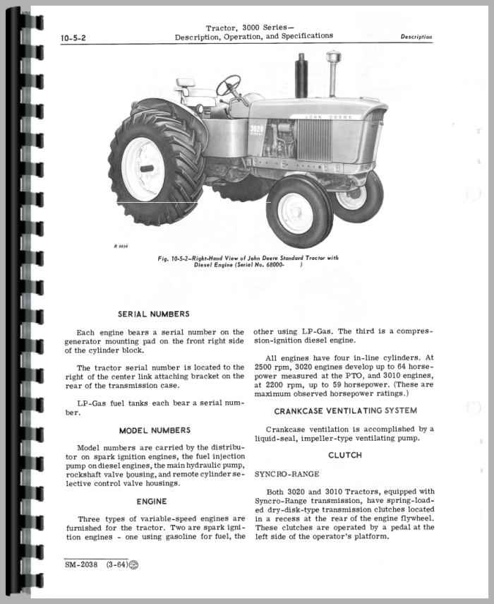 John Deere 4-254 Engine Service Manual