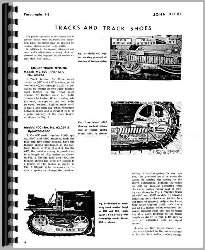 John Deere 440IC Crawler Service Manual
