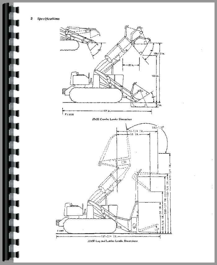 John Deere 450 Crawler Operators Manual