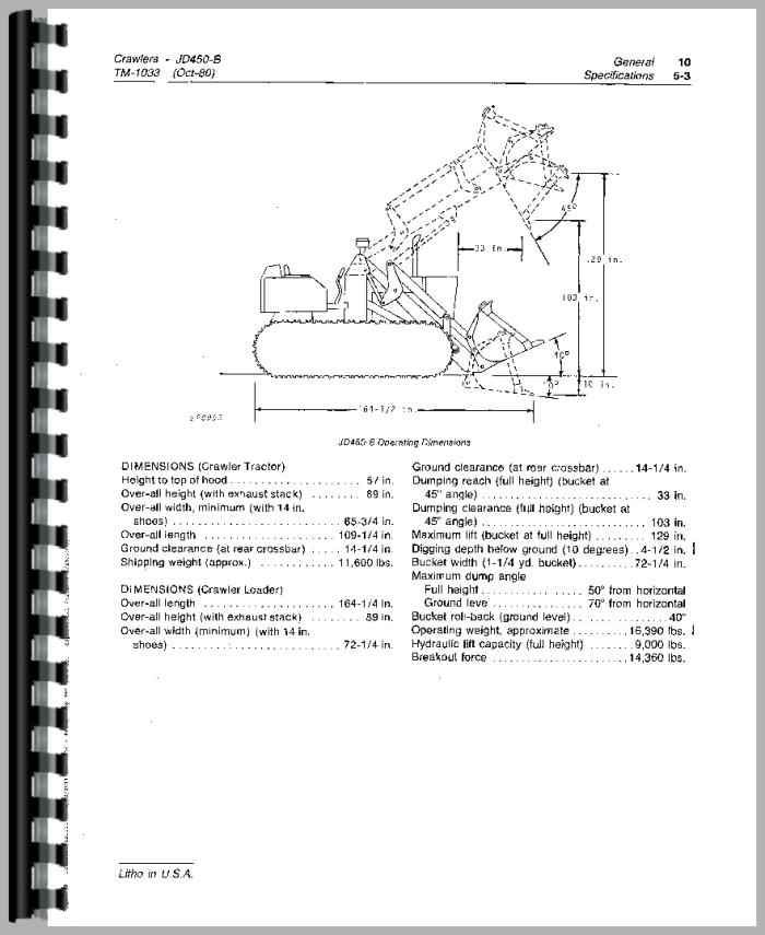 John Deere 450B Crawler Service Manual