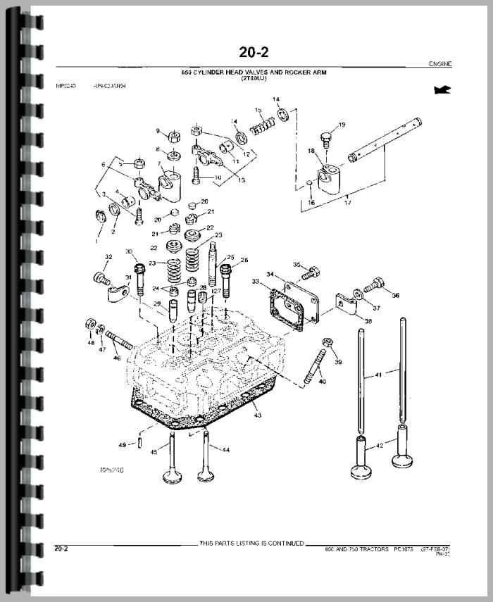 John Deere 650 Tractor Parts Manual