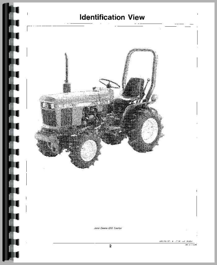 John Deere 750 Tractor Operators Manual
