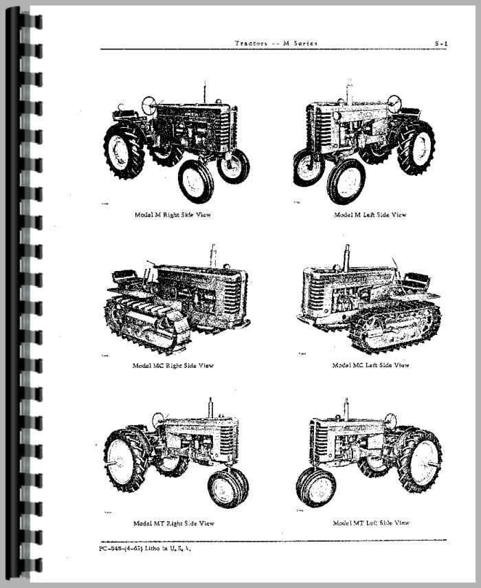 John Deere MC Crawler Parts Manual