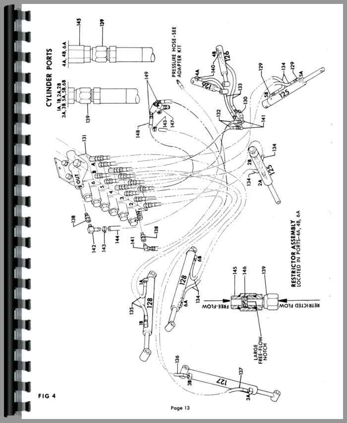 Kubota B670 Backhoe Attachment for B7100 Tractor Parts Manual