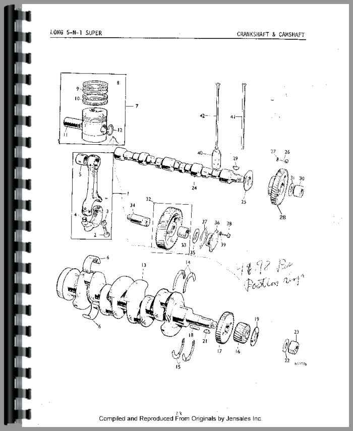 460 Long Tractor Hydraulic Parts Diagrams, 460, Get Free