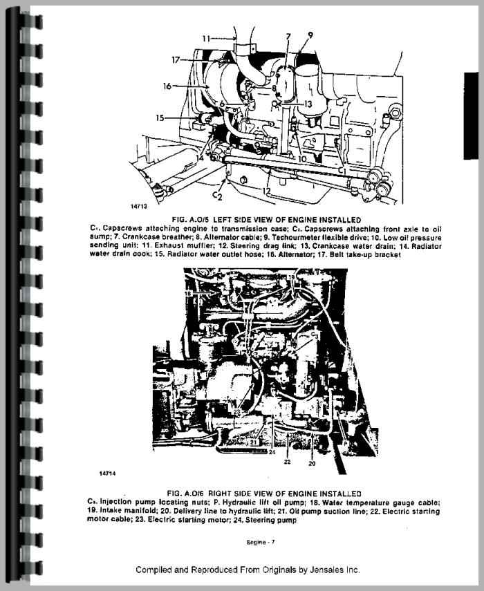 Long 350 Tractor Service Manual