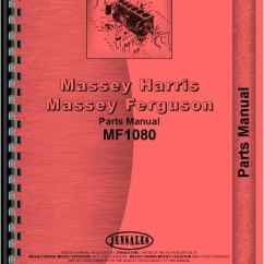 Massey Ferguson 240 Parts Diagram Central Air Conditioning Unit Wiring 1080 Tractor Manual Htmh Pmf1080