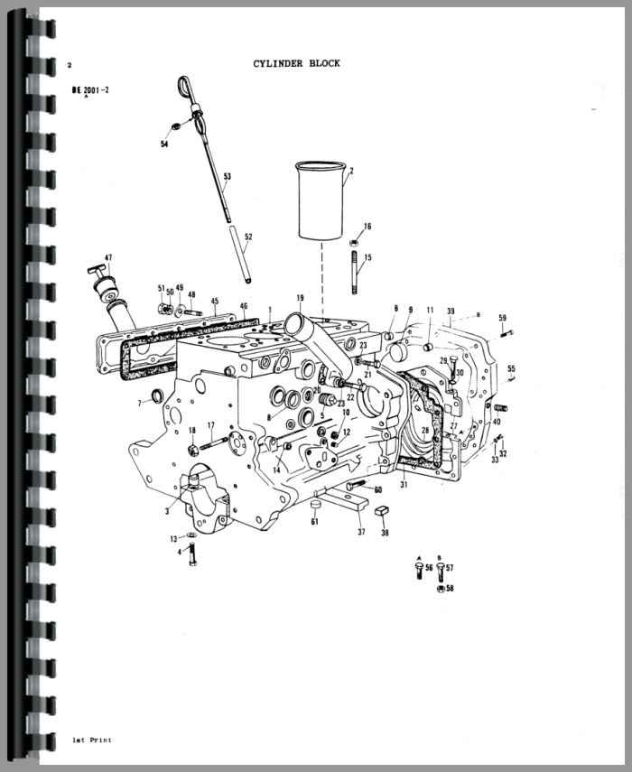 Massey Ferguson 1080 Tractor Parts Manual