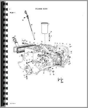 Massey Ferguson 1080 Tractor Parts Manual