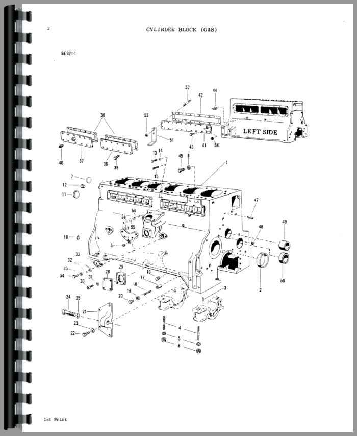 Massey Ferguson 1100 Tractor Parts Manual