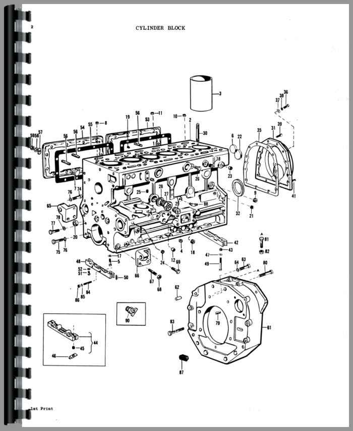 Massey Ferguson 1135 Tractor Parts Manual