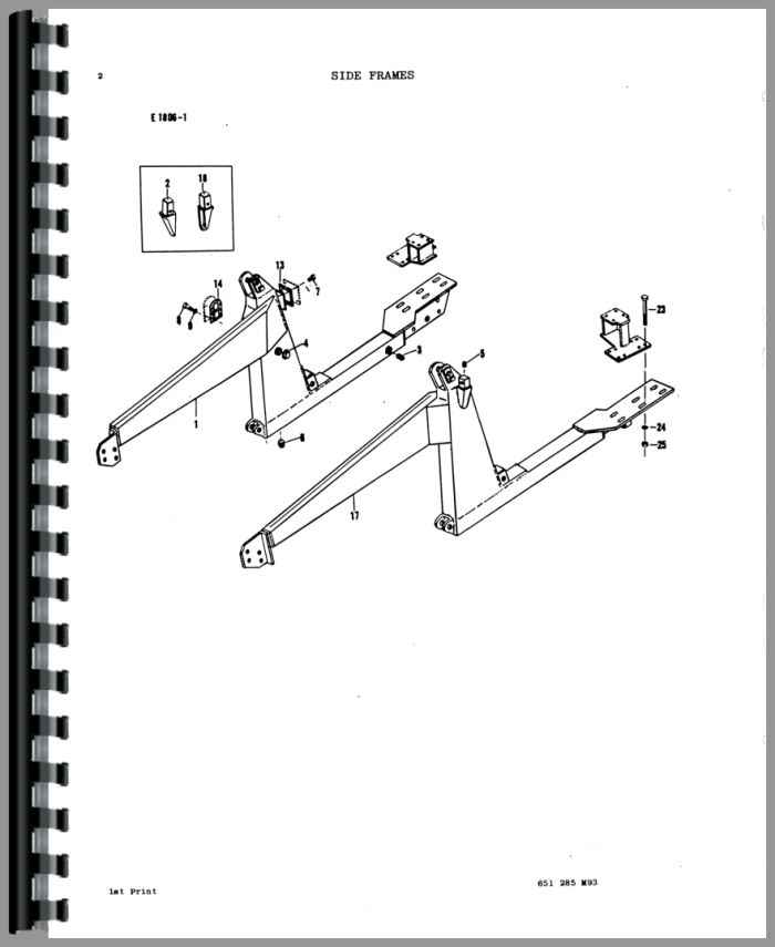 Massey Ferguson 150 Loader Attachment Parts Manual