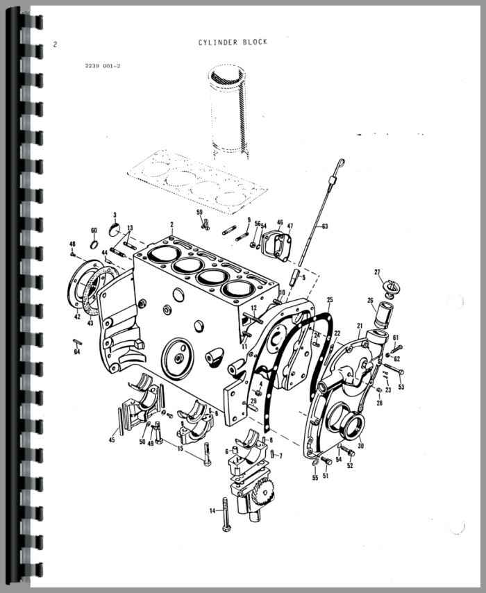 Massey Ferguson 20C Industrial Tractor Parts Manual