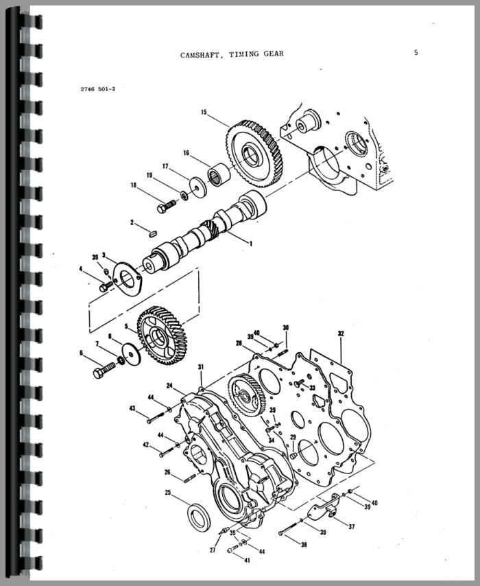 Massey Ferguson 220 Tractor Parts Manual