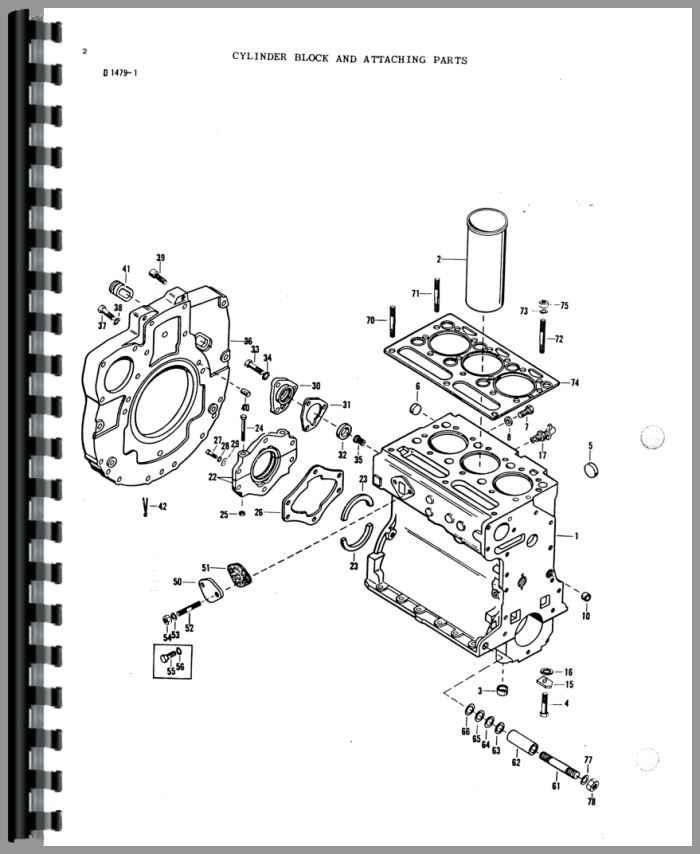 Massey Ferguson 2500 Forklift Parts Manual