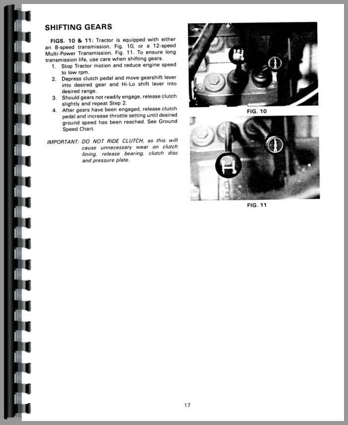 Massey Ferguson 270 Tractor Operators Manual