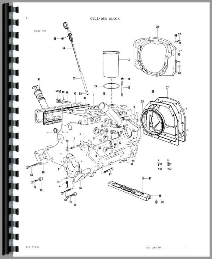 Ford 3000 Tractor Engine Diagram Massey Ferguson Tractor