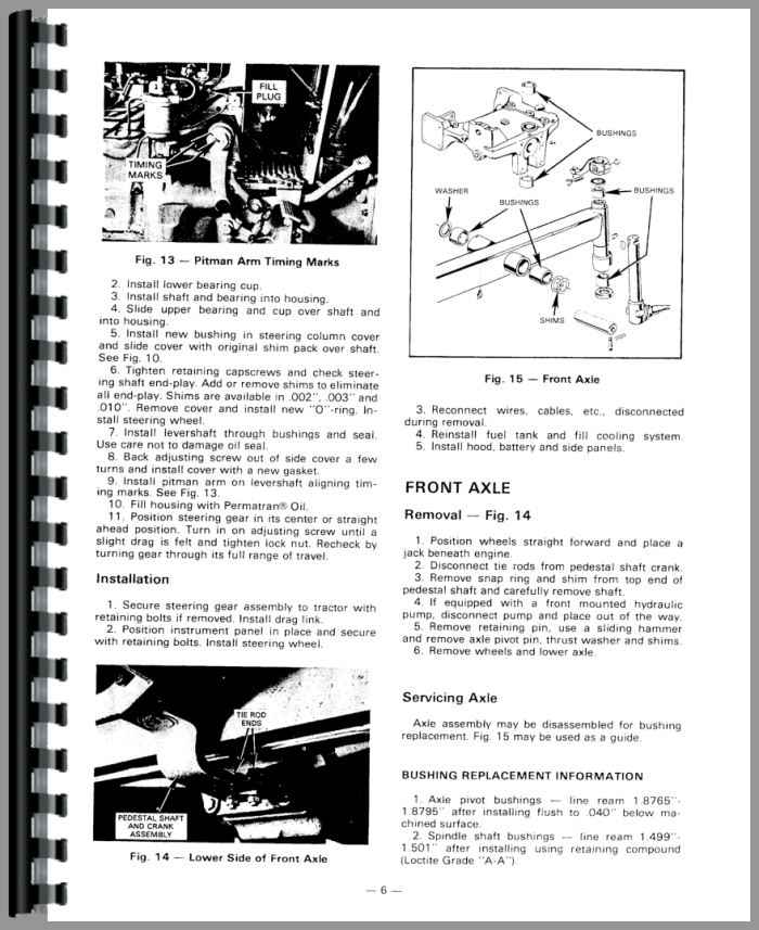 Massey Ferguson 31 Tractor Service Manual