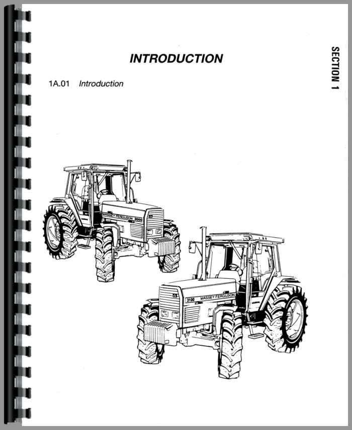 Massey Ferguson 3120 Tractor Service Manual