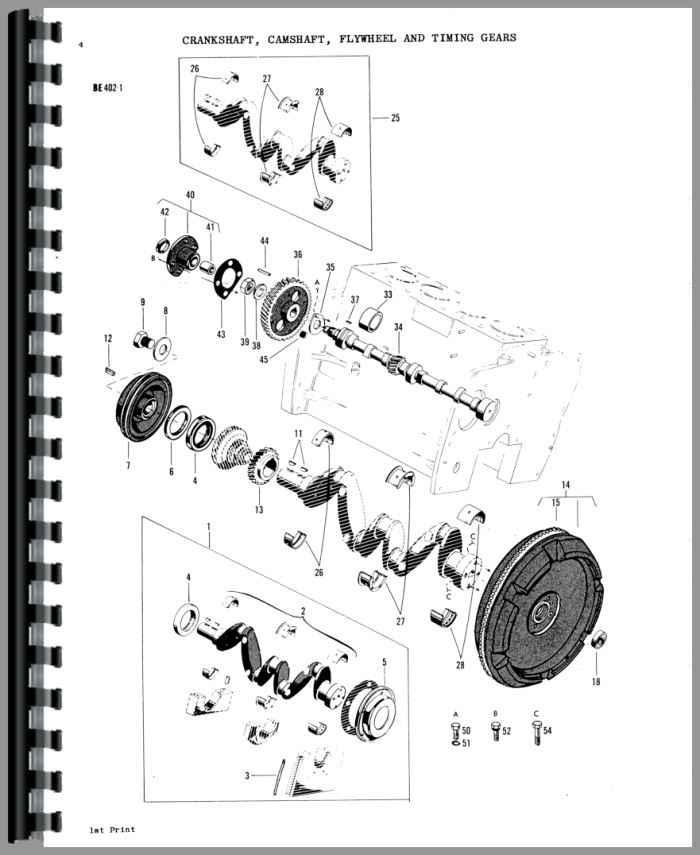 Massey Ferguson 3165 Industrial Tractor Parts Manual