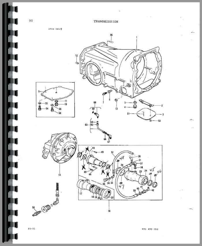 Massey Ferguson 3545 Tractor Service Manual