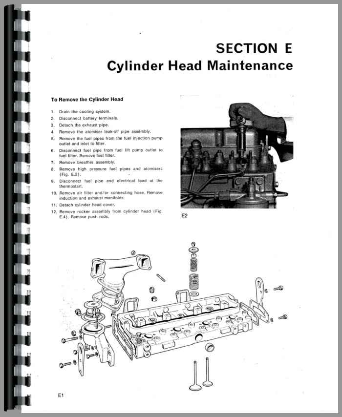Massey Ferguson 390 Engine Service Manual