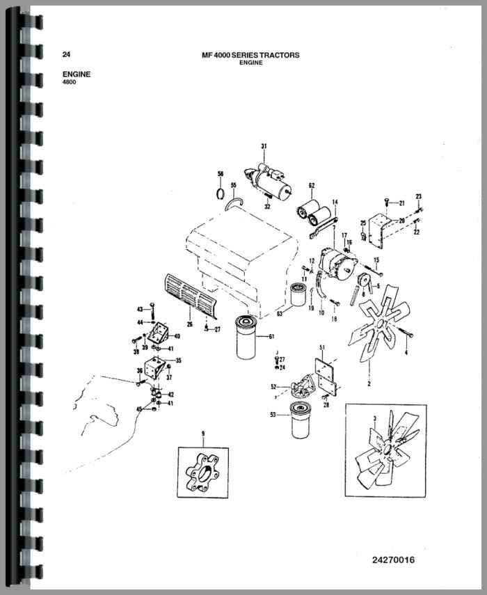 Massey Ferguson 4880 Tractor Parts Manual