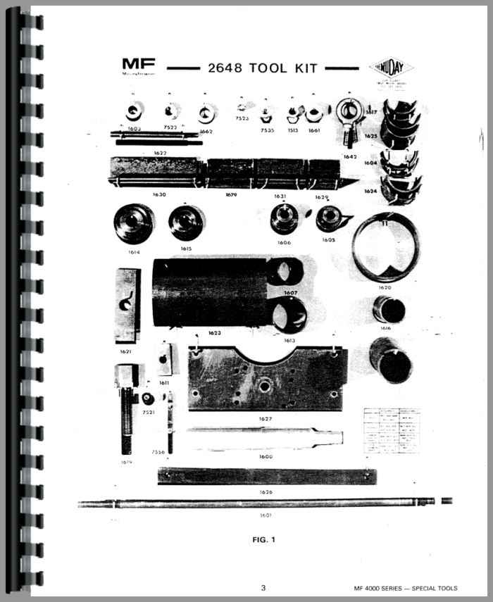 Massey Ferguson 4880 Tractor Service Manual