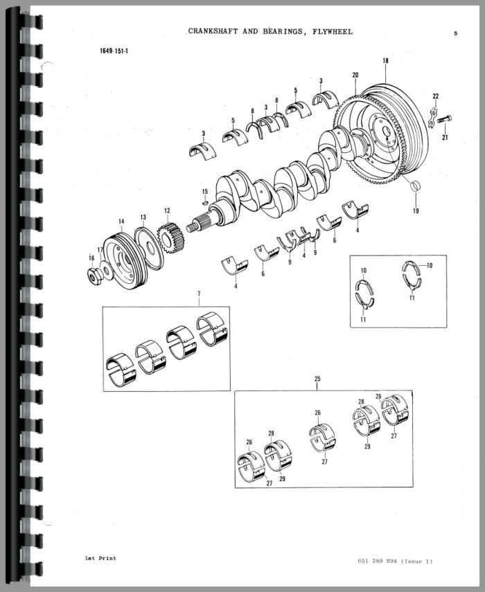Massey Ferguson 70 Industrial Tractor Parts Manual