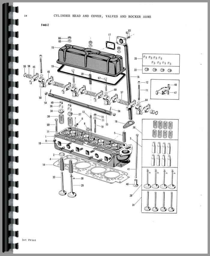 Massey Ferguson 88 Tractor Parts Manual