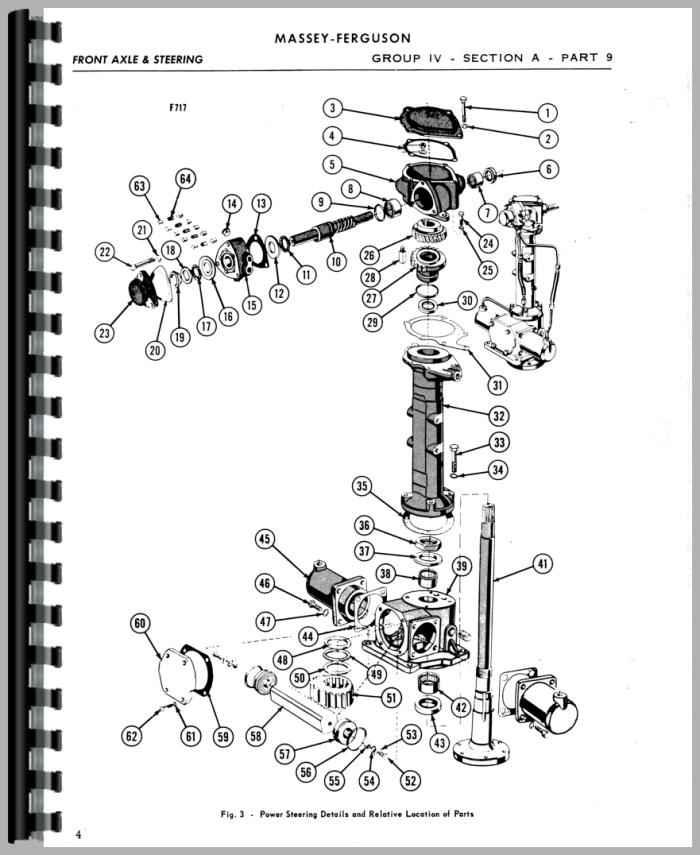 Massey Ferguson 88 Tractor Service Manual