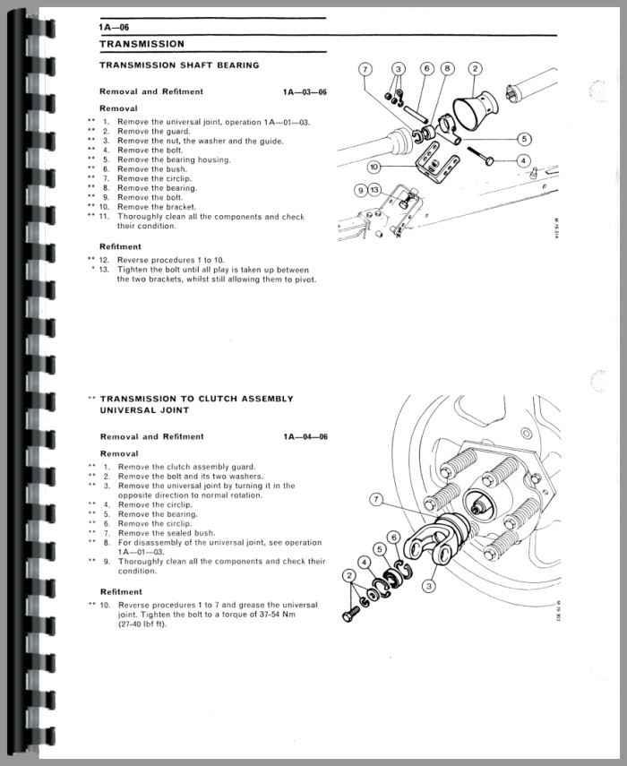 Massey Ferguson 120 Baler Service Manual