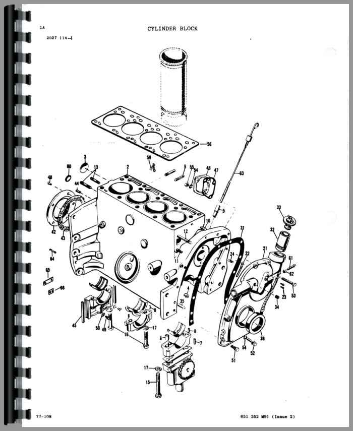 massey ferguson 235 engine diagram