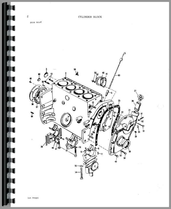 Massey Ferguson 245 Tractor Parts Manual