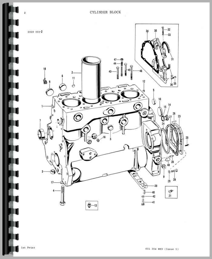 Massey Ferguson 275 Tractor Parts Manual
