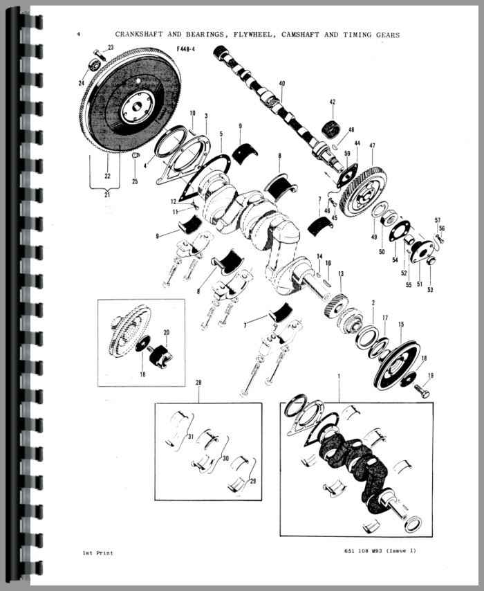 Massey Ferguson Super 90 Tractor Parts Manual