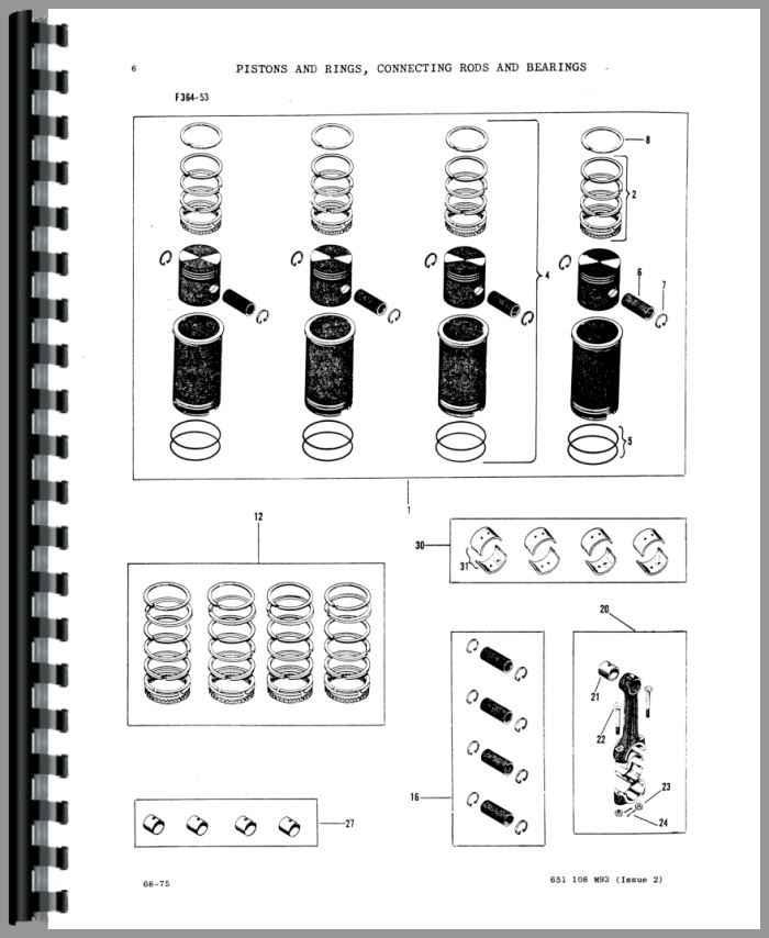 Massey Ferguson Super 90 Tractor Parts Manual