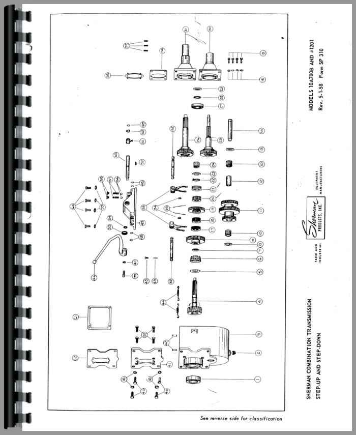 Ferguson TO20 Sherman Transmission Service Manual