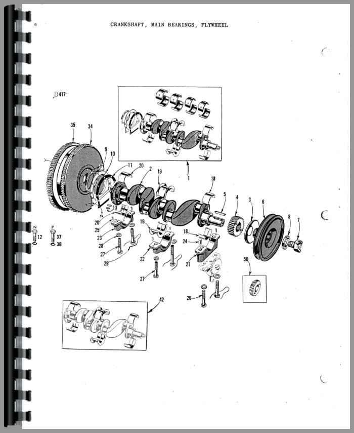 Massey Harris 33 Tractor Parts Manual